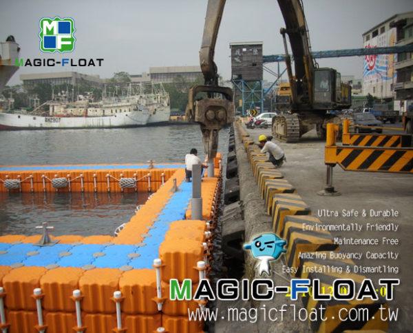 Długi łącznik Magic Float i złącze śrubowe długie