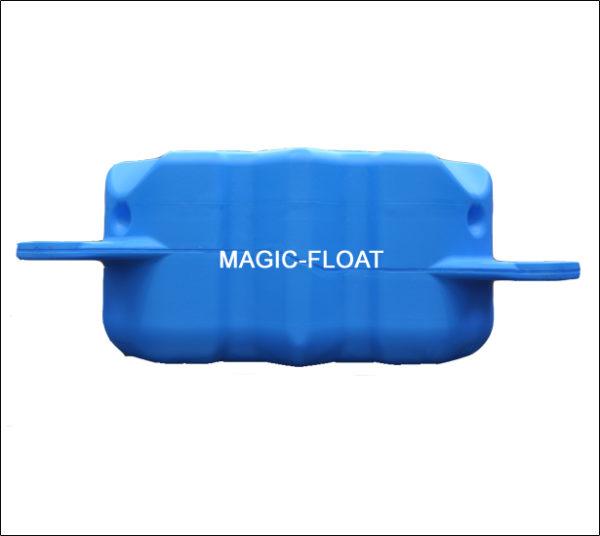 Magic Float VII - SE-105 MF VIISE-105 Magic-Float VII Specyfikacja: MF VII Model: SE-105 Magic-Float VII Kolor: Jasny siwy, niebieski Materiał: HDPE Lupolen 5261Z (produkcja Niemcy) lub Taisox Wymiary: dł. 50 cm x szer. 50 cm x wys. 26 cm